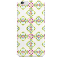 Colorful Shabby Chic Inspired Ornamental Design iPhone Case/Skin