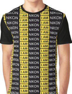 I AM NIKON logo Graphic T-Shirt