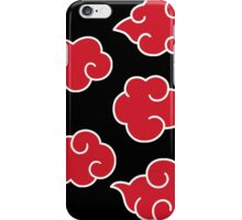 Naruto: Akatsuki Clouds iPhone Case/Skin
