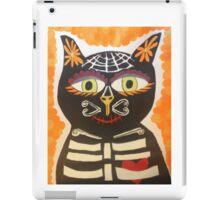Dia De Los Muertos Gato  iPad Case/Skin