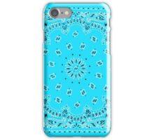 Light Blue Hanky,Handkerchief iPhone Case/Skin