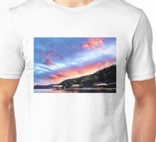 Sky Fire Sunset. Photo Art, Prints, Gifts, and Apparel. Unisex T-Shirt