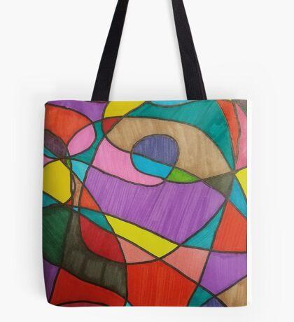 Color Mash up Tote Bag