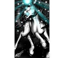 Crystal Unicorn Photographic Print