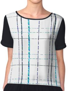 Lines of the soul Chiffon Top