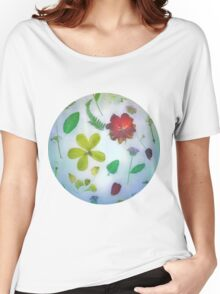 VINTAGE DRIED FLOWERS Women's Relaxed Fit T-Shirt