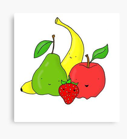 Cute Fruit Canvas Print