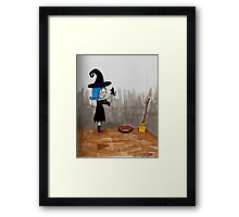 Magically friends Framed Print