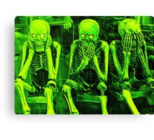 Halloween Humor Canvas Print