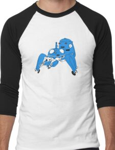 Tachikoma - Black outline, colour fill Men's Baseball ¾ T-Shirt