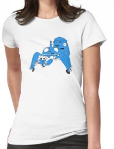 Tachikoma - Black outline, colour fill Womens Fitted T-Shirt