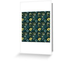 Florals and Frames Greeting Card