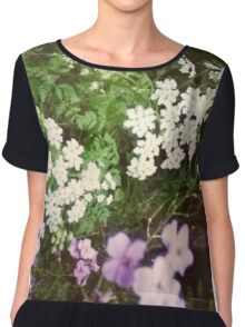 Flowers in the Forest Chiffon Top