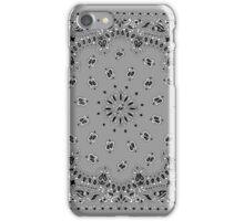 Light Gray Hanky,Handkerchief iPhone Case/Skin