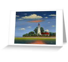 St. Mark's Light, Florida Greeting Card
