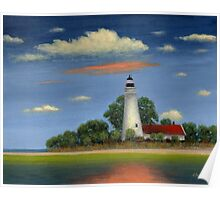 St. Mark's Light, Florida Poster