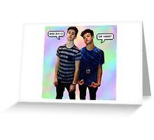 NG x CD Greeting Card