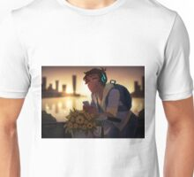 Lance making his way downtown Unisex T-Shirt