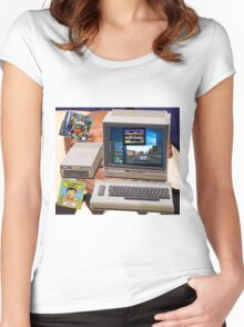 The 2016 C64 Women's Fitted Scoop T-Shirt