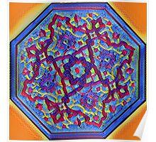 mandala mosaic Poster