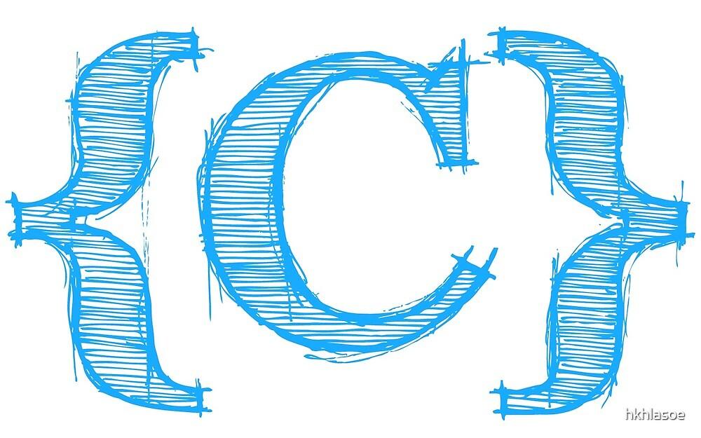 C Programming Logo by hkhlasoe  C Programming Logo