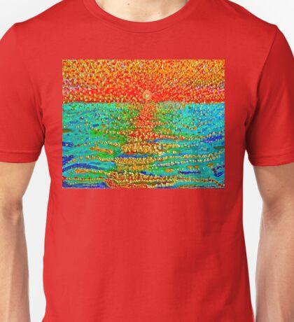 Jamaica sunrise. Unisex T-Shirt