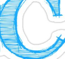 C Programming Logo Sticker