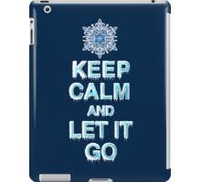 Keep Calm & Let It Go iPad Case/Skin