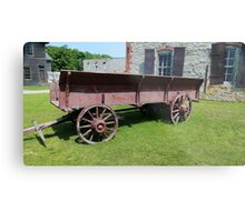Old Wagon Fayette State Park  Metal Print