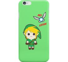 Link and Navi Cuties iPhone Case/Skin