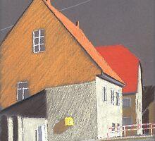 am Briefkasten by HannaAschenbach
