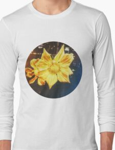 VINTAGE GOLD FLOWER Long Sleeve T-Shirt