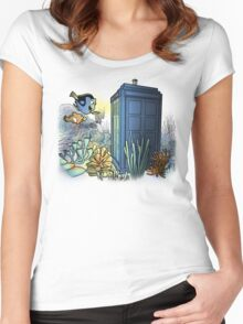 Finding Phonebooth Women's Fitted Scoop T-Shirt