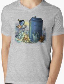 Finding Phonebooth Mens V-Neck T-Shirt