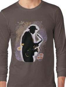 Jazz History with Billie Holiday and Fats Waller Long Sleeve T-Shirt