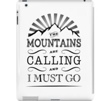 Mountains. iPad Case/Skin