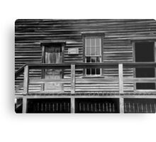 Town Hall Fayette State Park 2 BW Metal Print