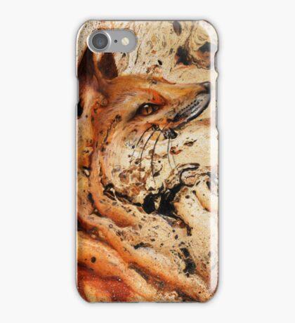 Foxy splash iPhone Case/Skin