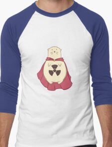 ATOMIC HAMSTER!  Men's Baseball ¾ T-Shirt