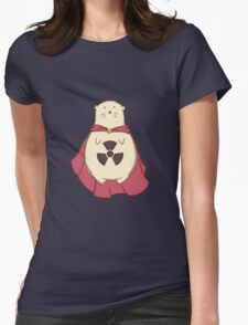 ATOMIC HAMSTER!  Womens Fitted T-Shirt