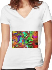 SEP 62 Women's Fitted V-Neck T-Shirt
