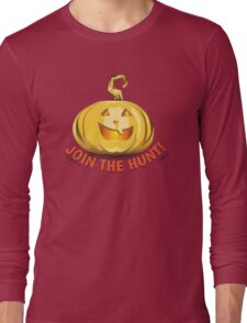 Pumpkinhunt: Golden Pumpkin Long Sleeve T-Shirt
