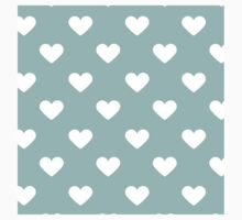 hearts,heart,white,turquoise,pattern,cute,love,lovely,girly,modern,trendy Baby Tee