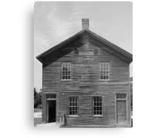 Town hall Fayette State Park BW Metal Print
