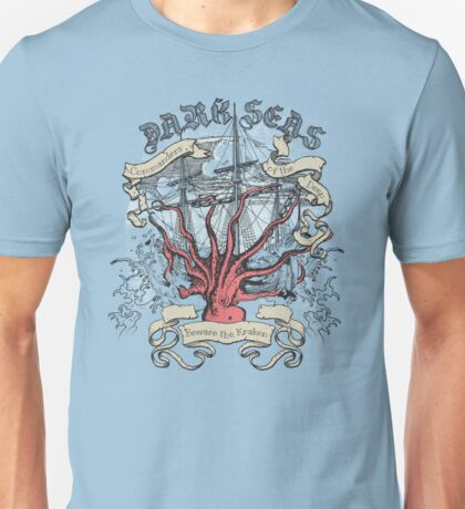 Dark Seas. Unisex T-Shirt