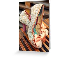 Shoes, Glorious Shoes Greeting Card