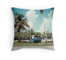 Vintage Motel Throw Pillow
