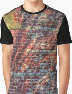 Brick, Plaster, Shadows and Steel Graphic T-Shirt