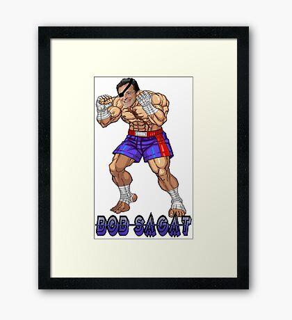 Bob Sagat Framed Print