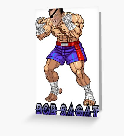 Bob Sagat Greeting Card